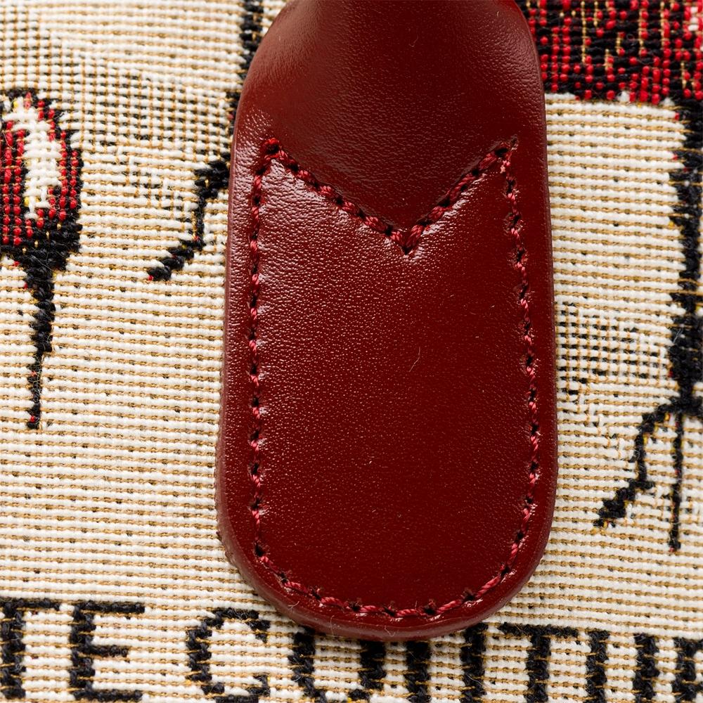フランス製 ゴブラン織り クチュール柄 ミニボストンバッグ[あす着対応]