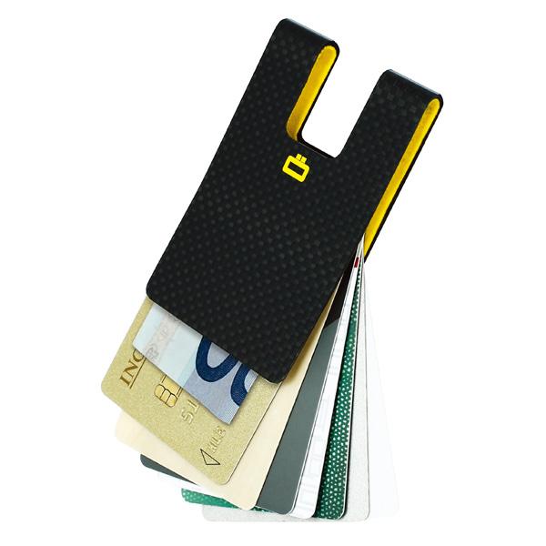 正規日本代理店 OGON 3C フランス製 リアルカーボン  カーボン カードケース クレジットカードケース カードクリップ マネークリップ スキミング防止[OGON/オゴン][あす着対応]【父の日特集】