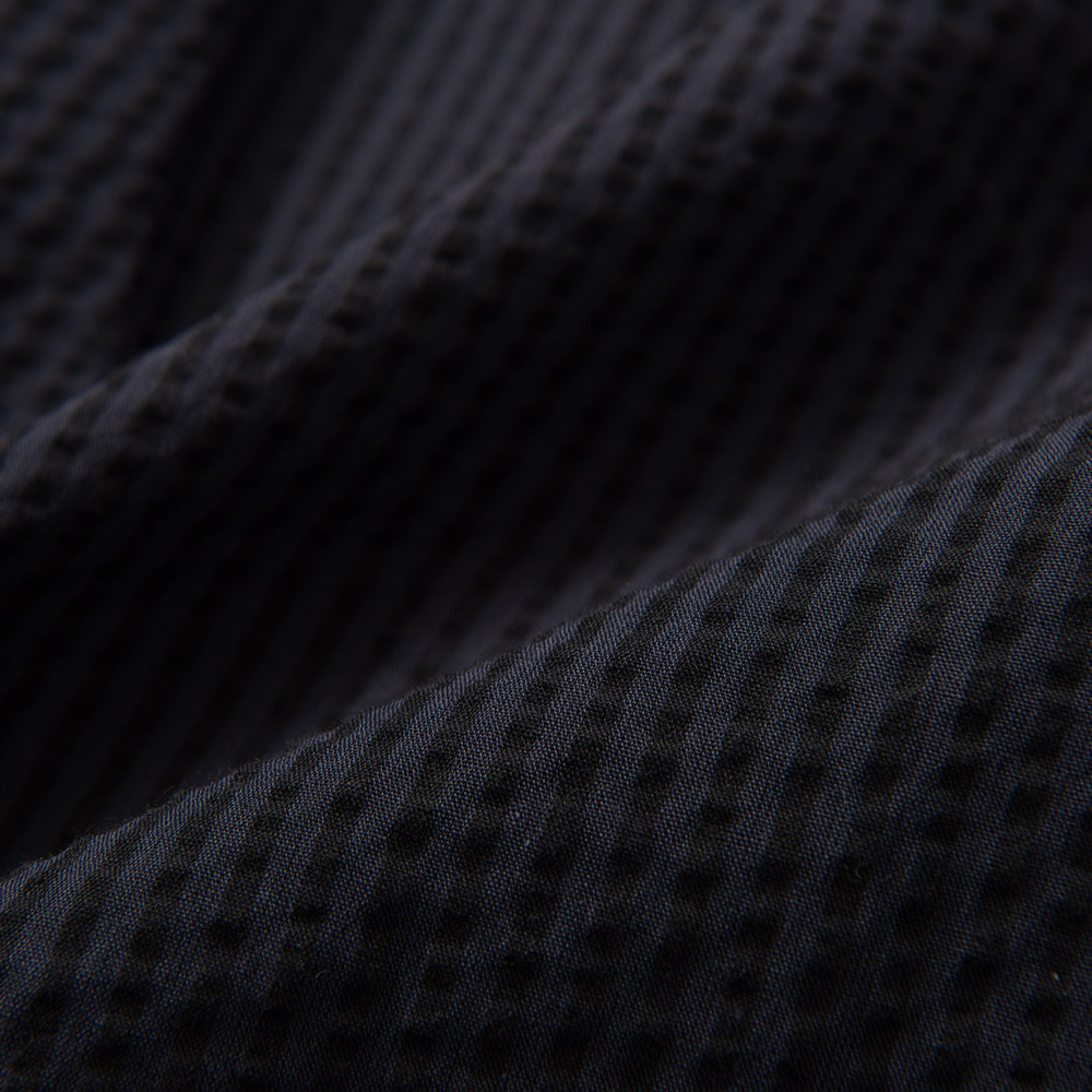 コットンリネン シアサッカー クールマックス シャツ ボタンダウンシャツ メンズ 男性 半袖[Herringbone Club/ヘリンボーンクラブ][あす着対応] 20atu3