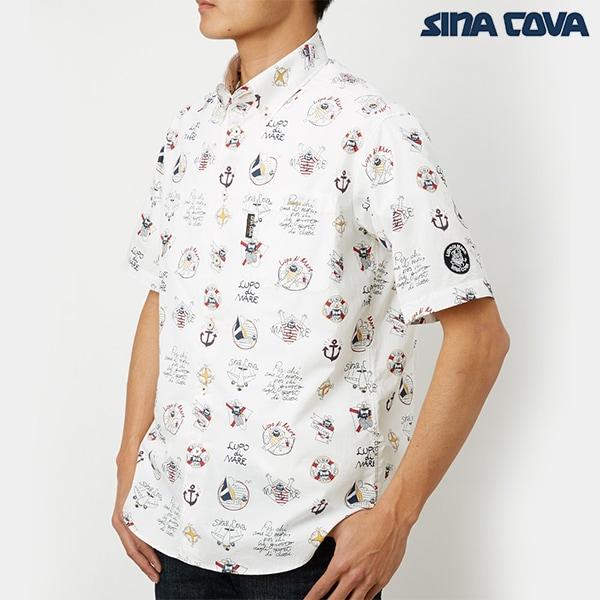 シナコバオリジナルマイクロサッカーシャツ[sina cova][JA][あす着対応]