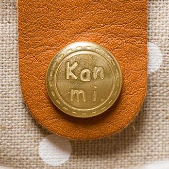 Kanmi. カンミ ドーナツバッグ M B18-91   トートバッグ かわいい ブランド 母の日 プレゼント かばん 本革 レザー バッグ トート[あす着対応]
