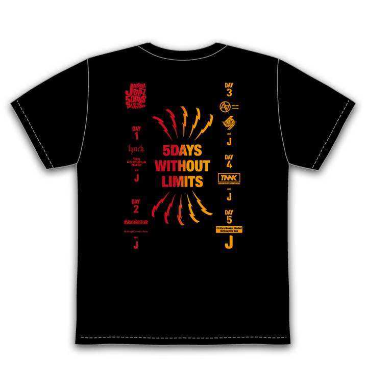5Days Tシャツ