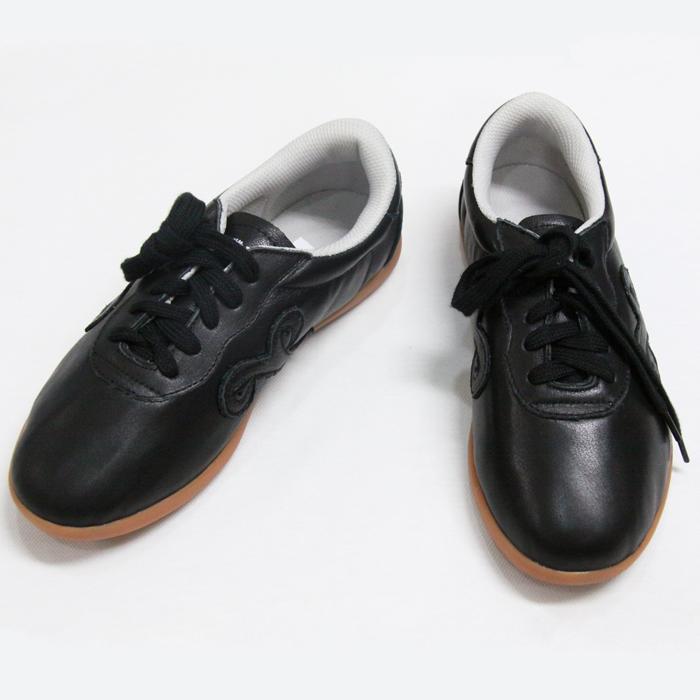 【SALE】≪牛革製≫雲(ユン)シューズ/ブラック(巾着付き)