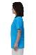 【SALE】【タイチリリー】 太極拳 Tシャツ ターコイズ 半袖スリット入り