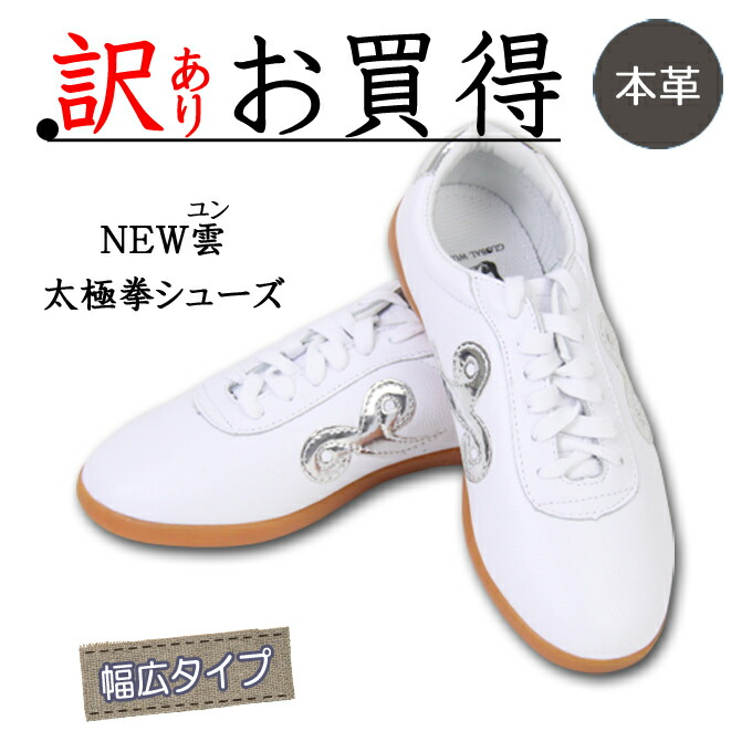 【OUTLET】NEW雲『ユン』(巾着付き)太極拳 武術 カンフー 用靴