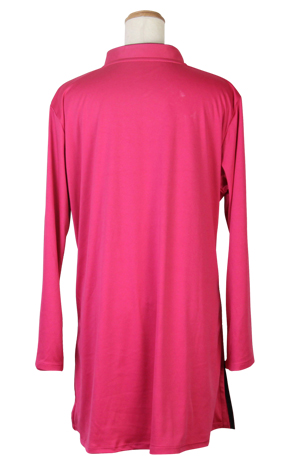 【SALE】表演服『エアリー短袍』ラインストーン付き 斜開式チャイナカラー/ファスナー式/長袖/4色