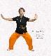 サマーセール 太極拳 ウェア・太極拳 『花鳥風月(カチョウフウゲツ)』四分袖 / ポロシャツ