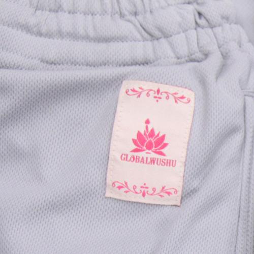 【SALE】NEWクールドライ太極拳用パンツポケット付きブラック&シルバー