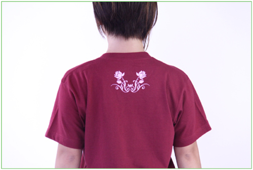 【SALE】太極拳Tシャツ【蓮唐草(ロータス)】カンフー ウェア スポーツ用品 レディース メンズ