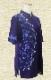 【SALE】新商品太極拳 ウェア・太極拳 服『結(ゆい)』五分袖/ネイビー/ファスナー式チャイナカラー