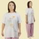 太極拳 ウェア『朱夏(しゅか)』 Tシャツ 四分袖 丸首Tシャツ