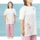【SALE】太極拳 ウェア【ココリーネ】Tシャツ 四分袖 丸首Tシャツ
