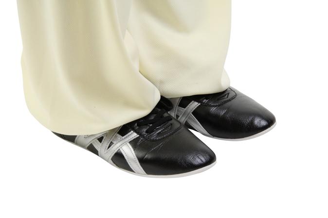 『ジュニアサイズあり19.0cm〜』NEW武術太極拳シューズ「飛脚FeiJiao フェイジャオ」合成皮革シューズ