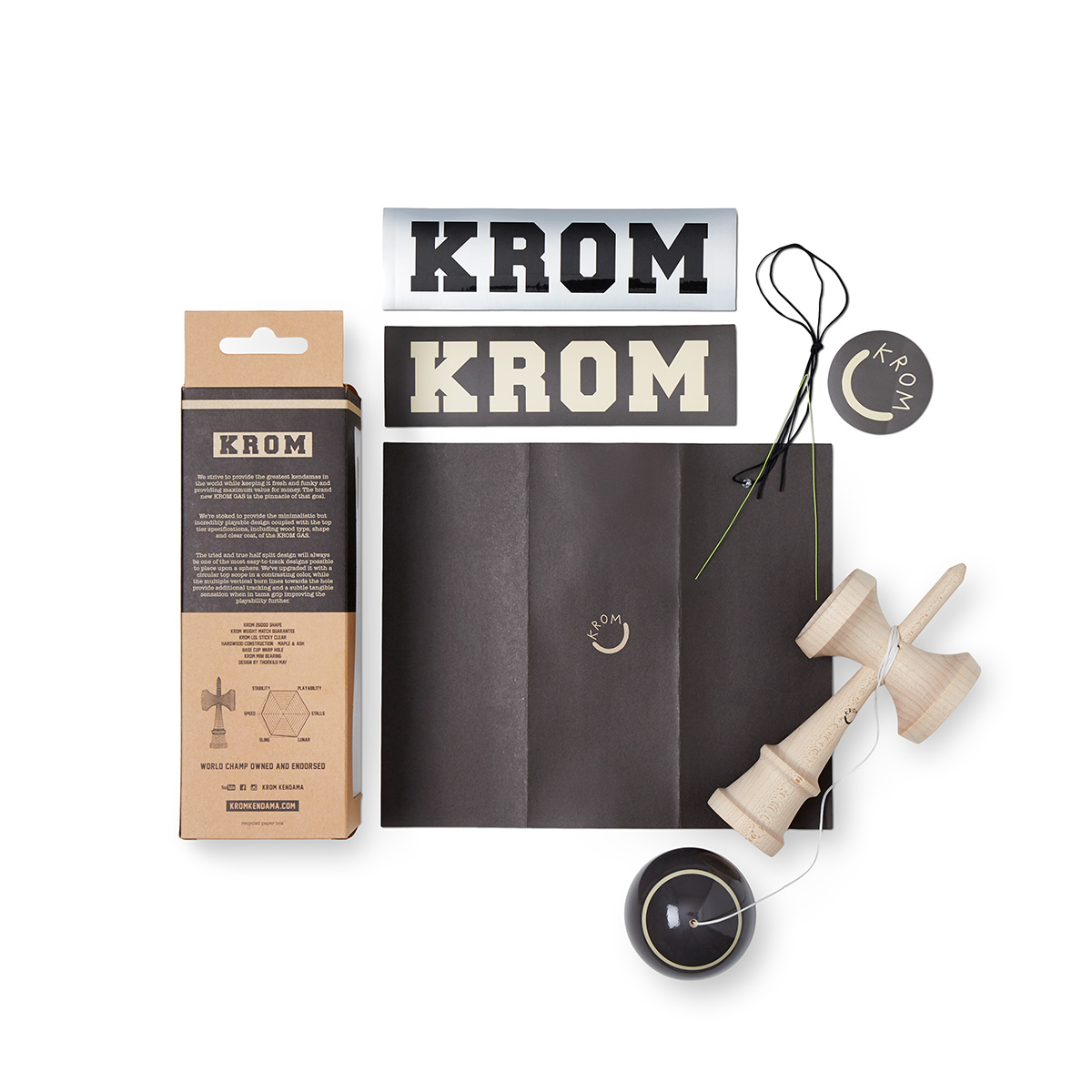 KROM - GAS - CHARCOAL