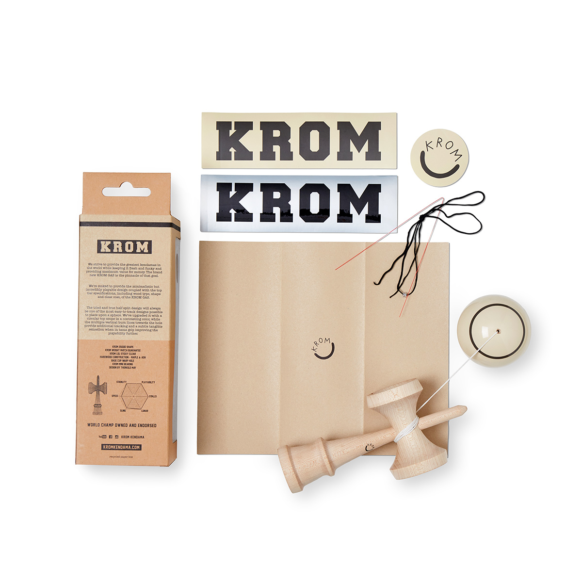 KROM - GAS - CREAM