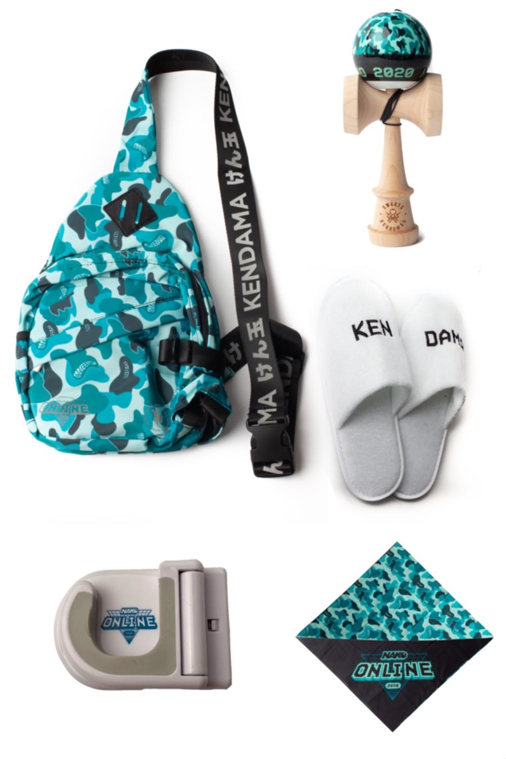 Sweets Kendamas - NAKO 2020 Swag Bag