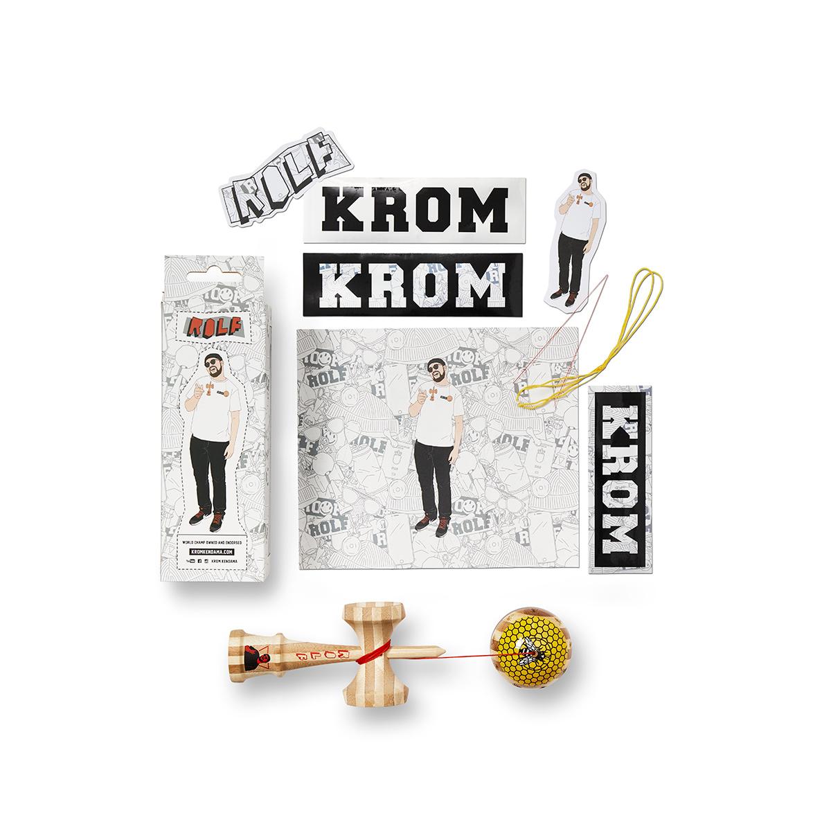 KROM - DJ PRO MOD BAMBOO - ROLF
