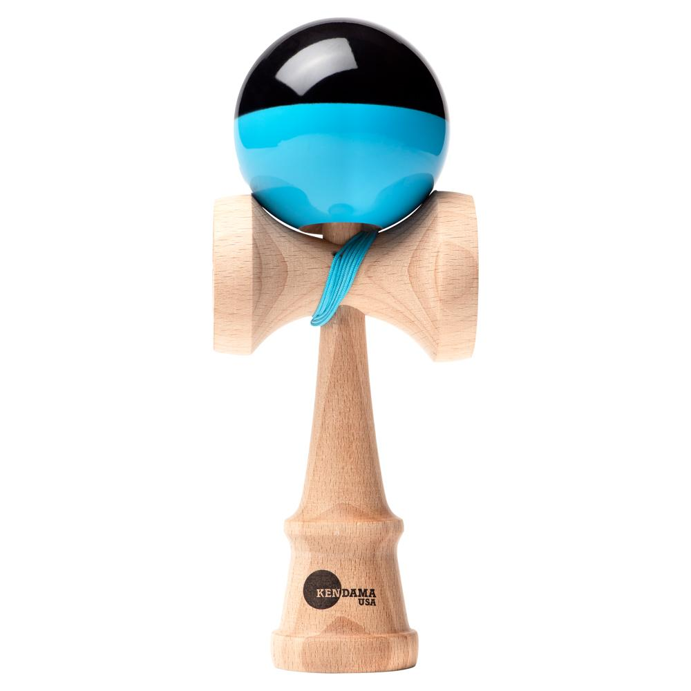 KENDAMA USA - Kaizen SHIFT - Half Split - Blue and Black