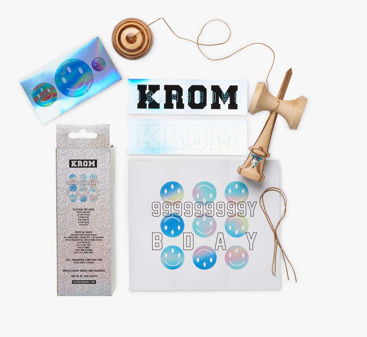 KROM - 9 YEAR B-DAY