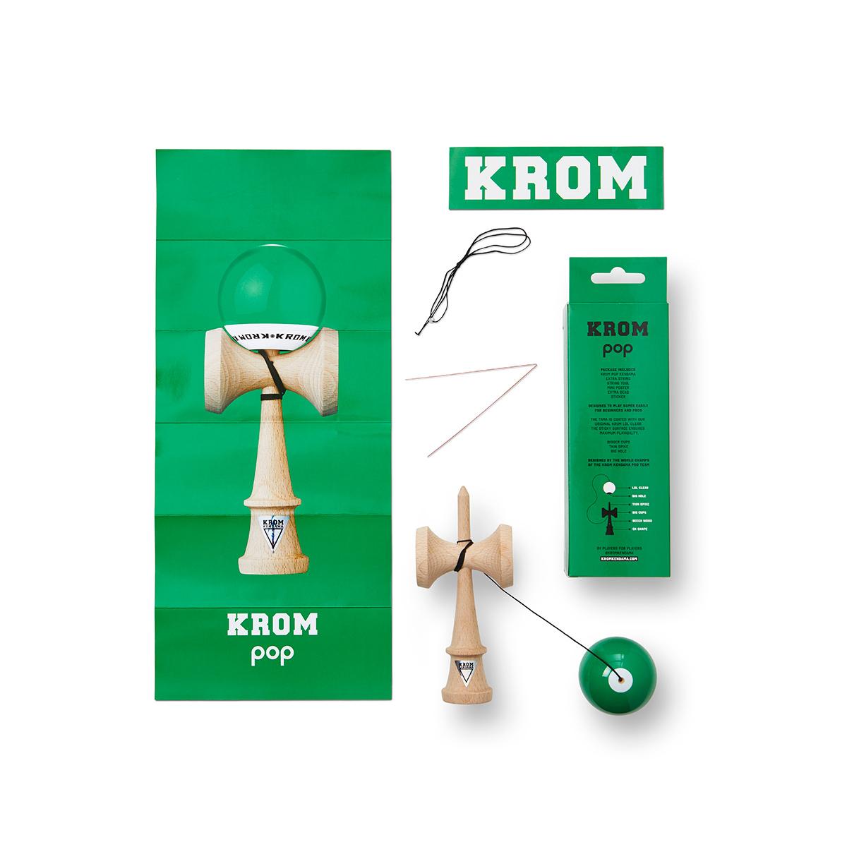 KROM POP LOL - DARK GREEN
