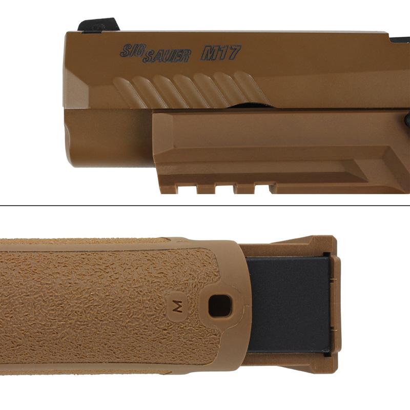 【予約】SIG Airsoft/VFC P320-M17 ガスブローバックピストル (Official Licensed)CO2ver.