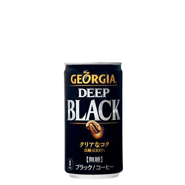 ジョージア ディープブラック 缶 185g缶 1ケース ( 30缶入り ) 送料無料