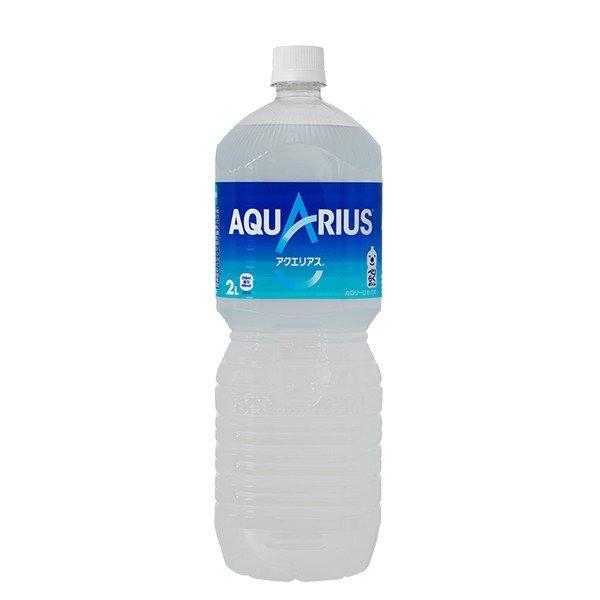 アクエリアス ペコらくボトル 2L 1ケース ( 6本入り ) 送料無料