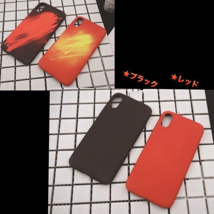 iPhone X ケース 温感変色ケース [強化ガラス&タッチペン付き] ゆうパケット送料無料