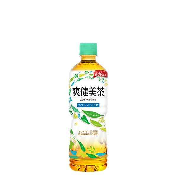 爽健美茶 600ml 1ケース ( 24本入り ) 送料無料