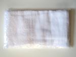 袋入平地付上級白ソフトタオル(180匁)★個別包装※350枚入ケース売り大特価