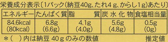 2018年全国納豆鑑評会優秀賞獲得★鎌倉小粒40g×2個