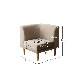 北欧デザイン 収納シェルフ付 伸縮式 ダイニング【FLEIN】フラン ダイニングテーブル 6点セット W135-170【送料無料】