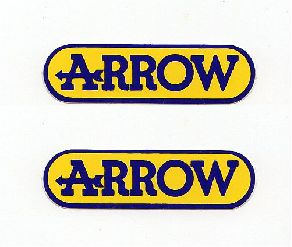 【ARROW ステッカー】ARROW (アロー) SS サイズ 2枚入り SP-19