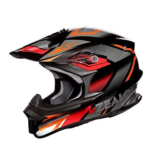 ZEALOT ジーロット godblinc ゴッドブリンク オフロードヘルメット MadJumper2 マッドジャンパー2 GRAPHIC BLACK/GRAY MJ0015