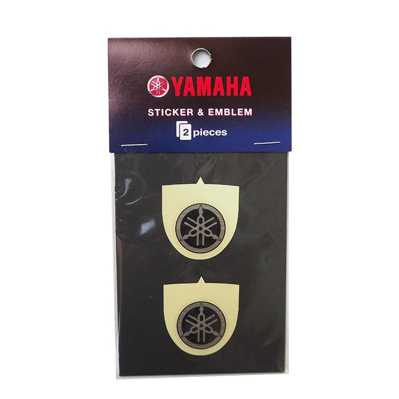 YAMAHA ヤマハ 音叉ステッカー Sサイズ 直径25mm 2枚入り ワイズギア Q5KYSK001TA9