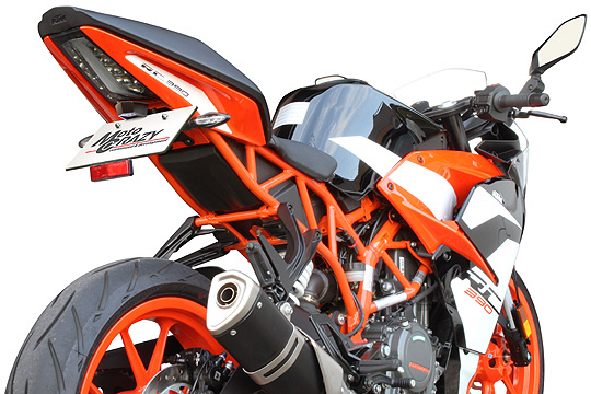 【KTM 専用カスタムパーツ 】ステンレス製 フェンダーレスキット RC 125/250/390(-Y21) SFK-K291A