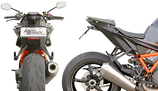 【KTM 専用カスタムパーツ 】ステンレス製 フェンダーレスキット  KTM 1290  SUPER DUKE R(Y20-) SFK-K301A