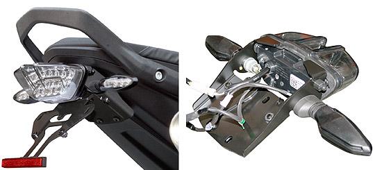 【KTM 専用カスタムパーツ 】ステンレス製 フェンダーレスキット790 DUKE(Y18-) SFK-K242A
