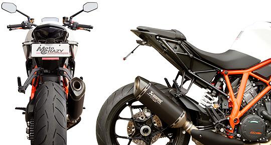 【KTM 専用カスタムパーツ 】ステンレス製 フェンダーレスキット  KTM 1290 SUPER DUKE R(-Y19) SFK-K271A