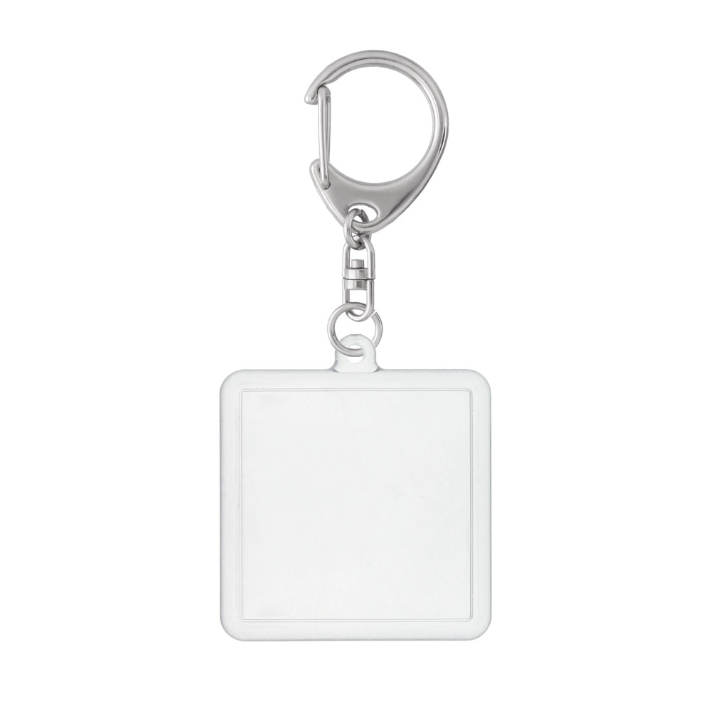 ハメパチ 正方形 KK45×45 キーホルダー 555 L 付き (CAK-K45A)