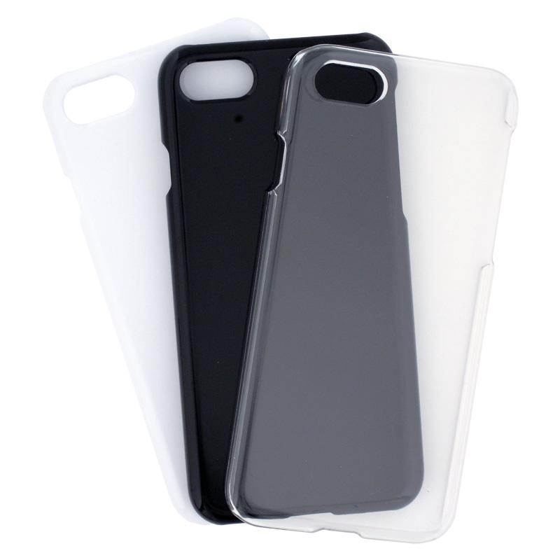 iPhone7/8/SE(第2世代)用 カバーケース 光沢タイプ ブラック