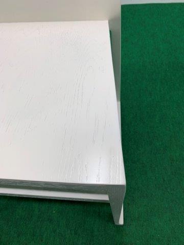 メーカー不明 木製チェア ホワイト