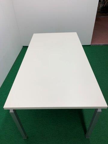 ナイキ製 ミーティングテーブル(ウェイクシリーズ/WKT-1890) ホワイト W1800