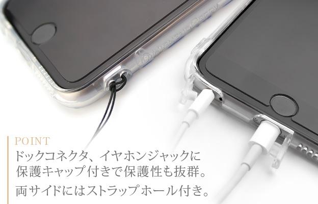 [iPhone6 Plus/6s Plusタイプ]ボタニカルiPhoneソフトケース【Jimy's Charmer(ジミーズチャーマー)】AJA-01020-6P