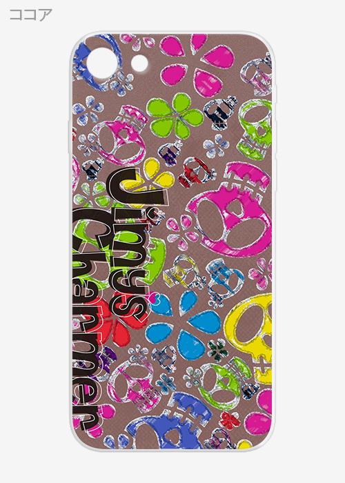 [iPhone7/8タイプ]ボタニカルiPhoneソフトケース【Jimy's Charmer(ジミーズチャーマー)】AJA-01020-7