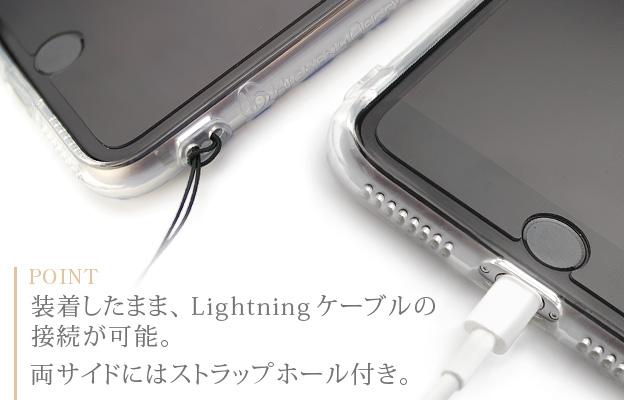 [iPhone7 Plus/8 Plusタイプ]ボタニカルiPhoneソフトケース【Jimy's Charmer(ジミーズチャーマー)】AJA-01020-7P
