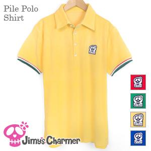 パイルポロシャツ[半袖]【Jimy's Charmer(ジミーズチャーマー)】JCC-93