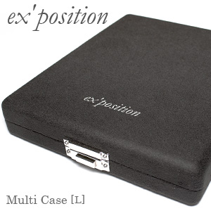 マルチケース[L]【ex'position(エクスポジション)】EX-G001-L