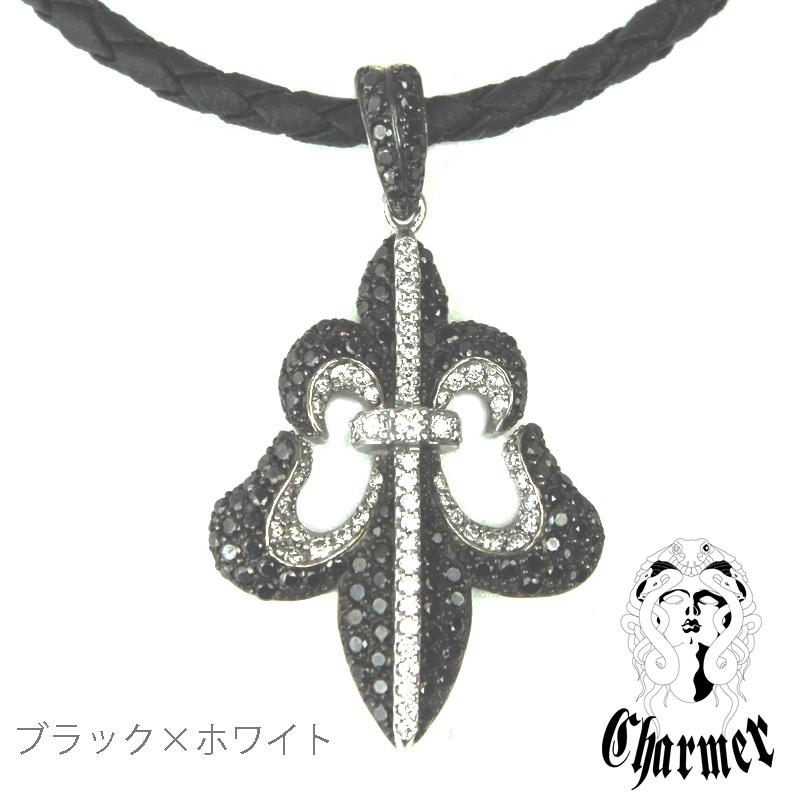 K18ブラックダイヤ フレアペンダント[L]【Charmer(チャーマー)】P1097