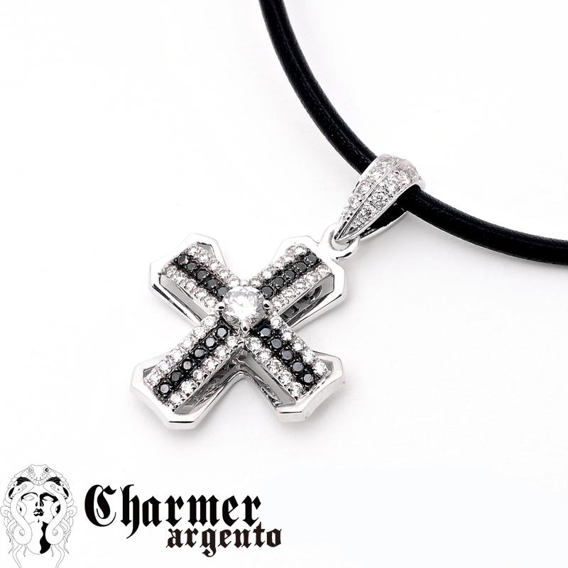 [Web Shop限定] SVセンターCZチャーマーペンダント[S]【Charmer argento(チャーマー アルジェント)】P1013